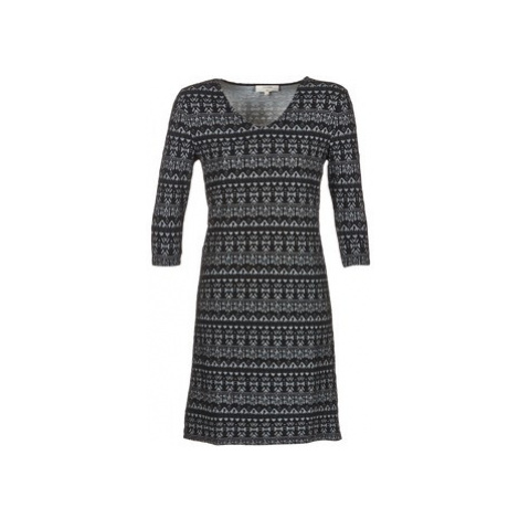 Cream MIRA DRESS women's Dress in Black