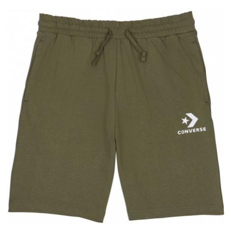 Converse STAR CHEVRON KNIT SHORT green - Men's shorts