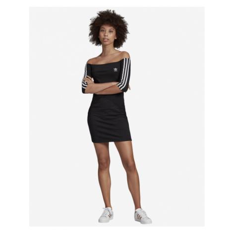 adidas Originals Off-the-Shoulder Dress Black