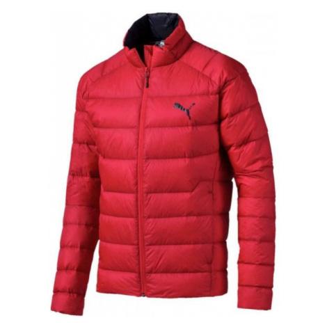 Puma WARM PACKLITE 600 DOWN red - Men's winter jacket
