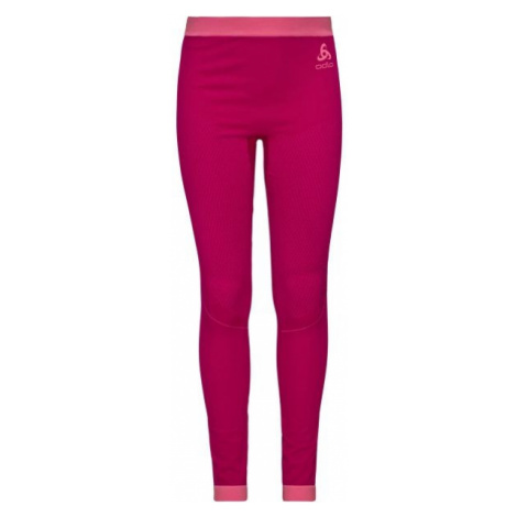 Odlo BL BOTTOM LONG PERFORMANCE WARM KIDS red - Children's pants