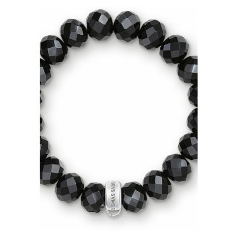 Ladies Thomas Sabo Sterling Silver Charm Club Charm Bracelet X0035-023-11-M