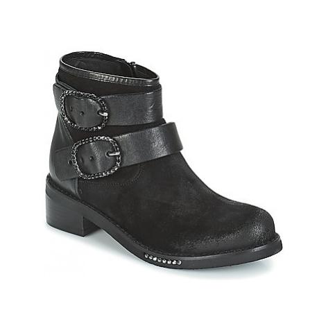 Mimmu MYLANN women's Mid Boots in Black