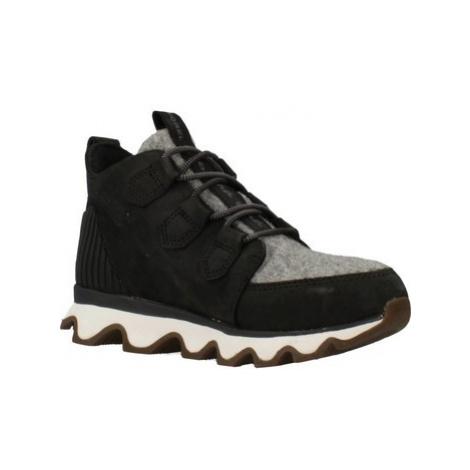 Sorel KINETIC CARIBOU women's Low Ankle Boots in Black