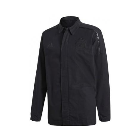 Germany ZNE Woven Anthem Jacket - Black Adidas