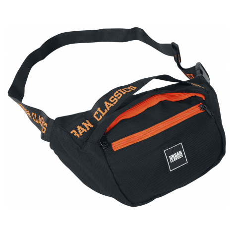 Urban Classics - Shoulder Bag - Shoulder bag - black-orange