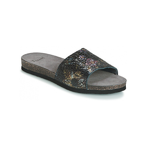 Think TANA women's Mules / Casual Shoes in Black