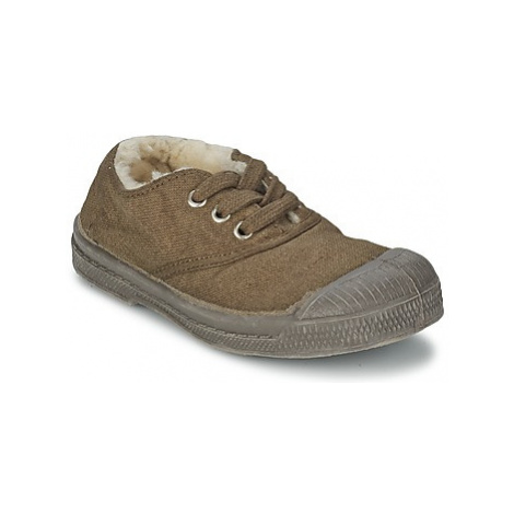Bensimon TENNIS FOURREES girls's Children's Shoes (Trainers) in Brown