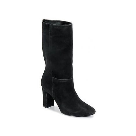 Lauren Ralph Lauren ARTIZAN-BOOTS-DRESS women's Low Ankle Boots in Black