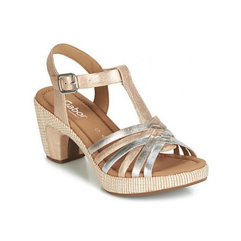 Gabor LILIOLA women's Sandals in Gold