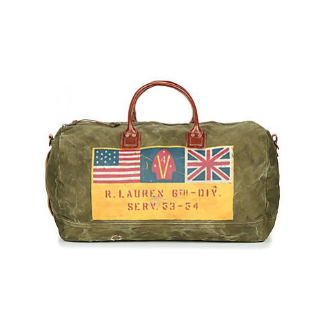Polo Ralph Lauren DUFFLE MILITARY men's Travel bag in Green