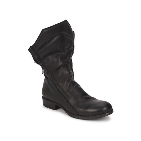 Strategia FIOULI women's Mid Boots in Black