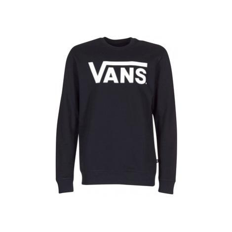 Vans VANS CLASSIC CREW men's Sweatshirt in Black