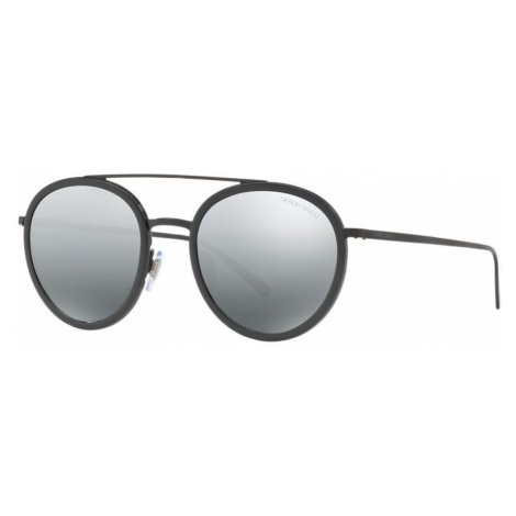 Giorgio Armani Woman AR6051 - Frame color: Black, Lens color: Silver, Size 51-20/145