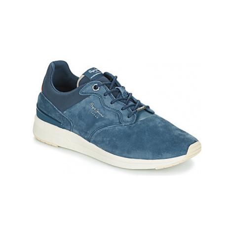 Pepe jeans JAYKER DUAL D-LIMIT men's Shoes (Trainers) in Blue