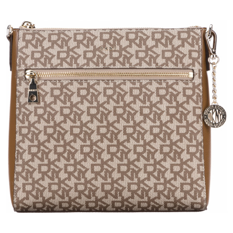 DKNY Bryant Cross body bag Brown Beige