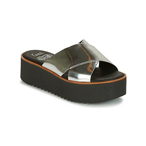 Coolway DUNIA women's Mules / Casual Shoes in Silver