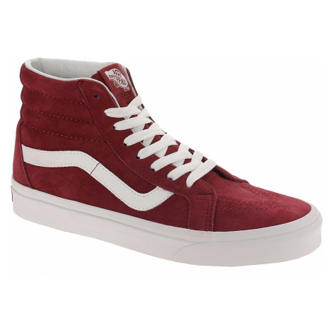 shoes Vans Sk8-Hi Reissue - Pig Suede/Scooter/True White