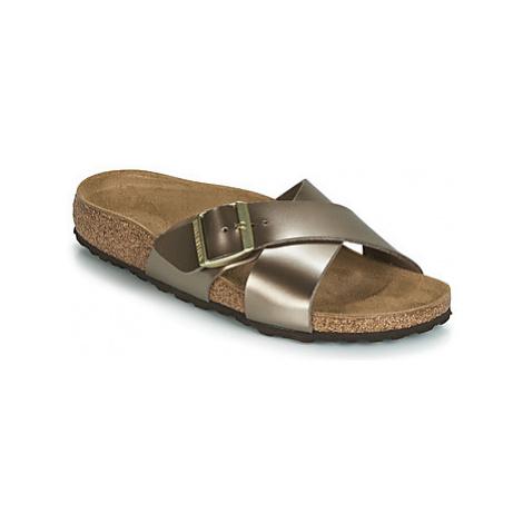 Birkenstock SIENA women's Mules / Casual Shoes in Gold
