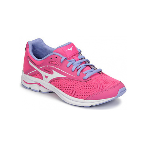 Mizuno WAVE RIDER 23 JR girls's Children's Sports Trainers in Pink
