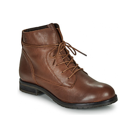 Casual Attitude LILA women's Mid Boots in Brown