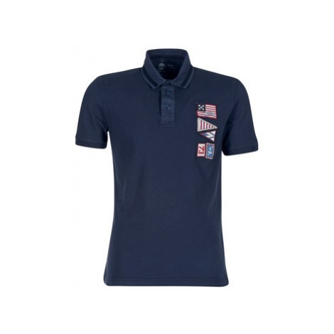 Timberland EASTHAM SS POLO men's Polo shirt in Blue