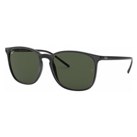 Ray-Ban Rb4387 Man Sunglasses Lenses: Green, Frame: Black - RB4387 601/71 56-18