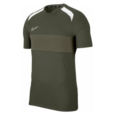 Nike DRY ACD TOP SS SA M dark green - Men's football T-shirt