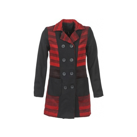 Smash LESSEPS women's Coat in Black