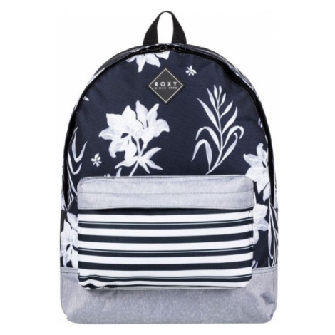 Roxy SUGAR BABY PRINTED 2 grey - Women's backpack