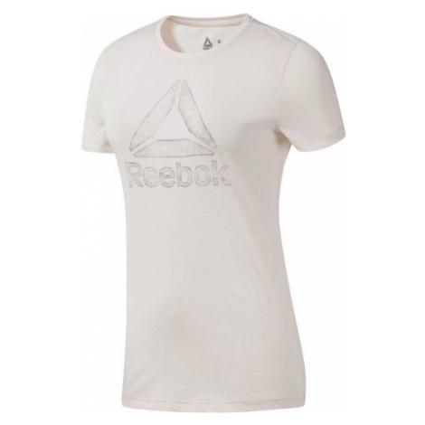 Reebok OPP DELTA TEE white - Women's T-shirt