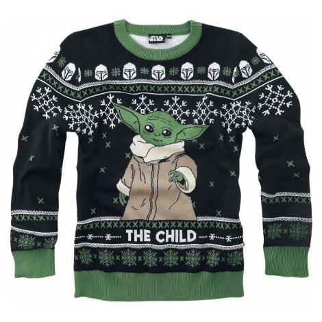 Star Wars Kids - The Mandalorian - Baby Yoda - Grogu Knit jumper black