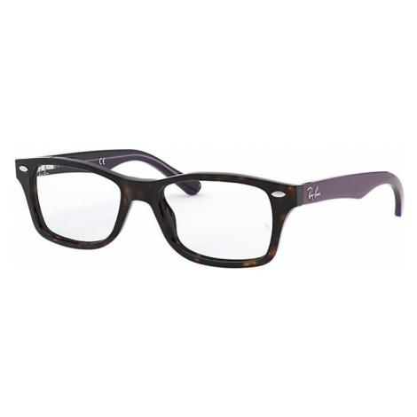 Ray-Ban Rb1531 Unisex Optical Lenses: Multicolor, Frame: Violet - RB1531 3750 46-16