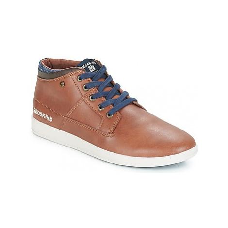 Redskins GERMAIN men's Shoes (High-top Trainers) in Brown
