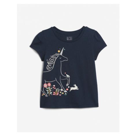 Blue girls' t-shirts