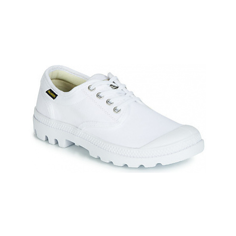 Palladium PAMPA OX ORIGINALE men's Shoes (Trainers) in White