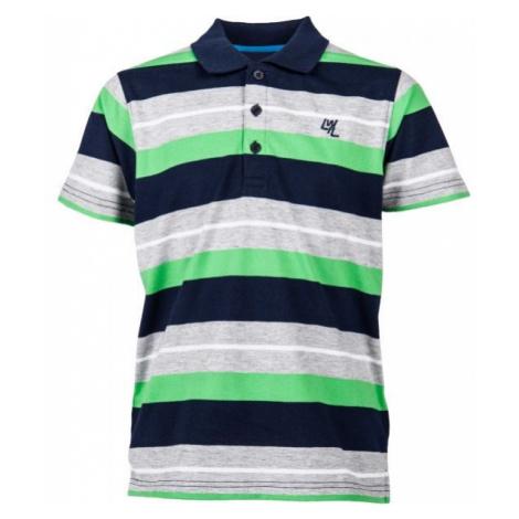 Lewro GEROS gray - Boys' polo shirt