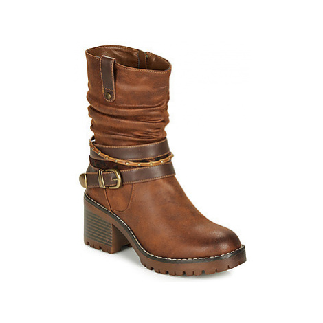 MTNG 58666-C27928 women's Low Ankle Boots in Brown