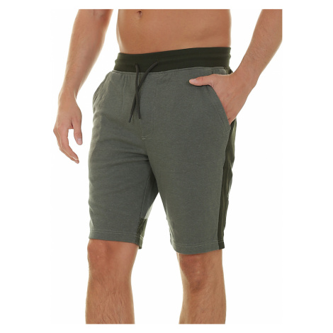 shorts Under Armour Microthread Terry - 492/Moss Green/Black - men´s