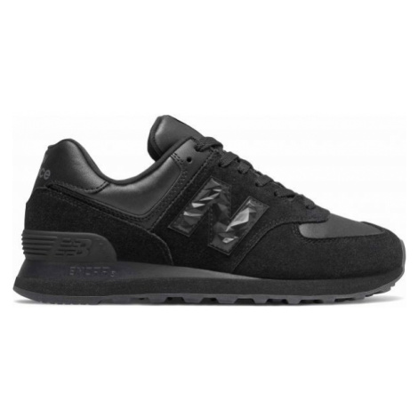New Balance WL574SOS black - Women's leisure shoes