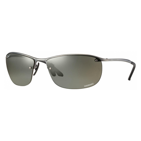 Ray-Ban Rb3542 chromance Man Sunglasses Lenses: Gray Polarized, Frame: Gunmetal - RB3542 029/5J