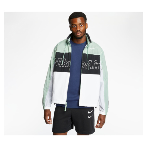 Nike Sportswear Nike Air Woven Hooded Jacket Silver Pine/ Black/ White