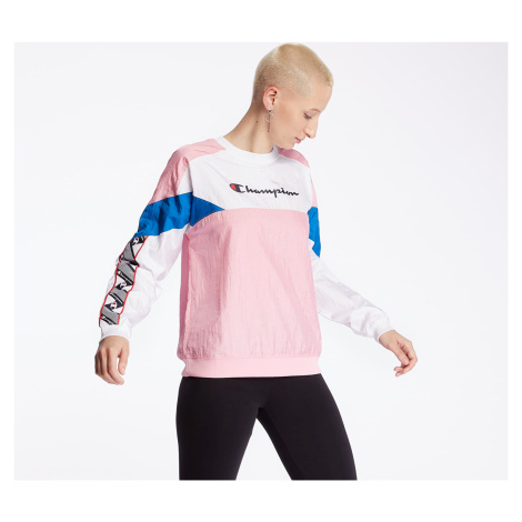 Champion Crewneck Pink/ White/ Blue