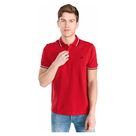 Fred Perry Polo Shirt Red