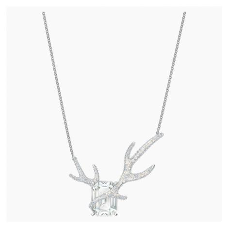 Polar Bestiary Necklace, Multi-coloured, Rhodium plated Swarovski