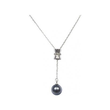 Blue Pearls CRY E761 J women's Necklace in Multicolour