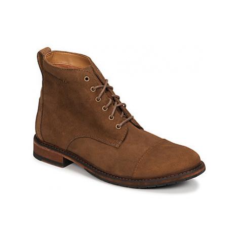 Clarks CLARKDALE HILL men's Mid Boots in Beige