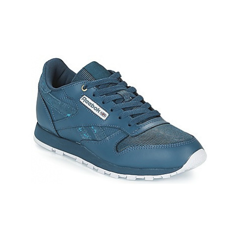 Reebok Classic CLASSIC LEATHER J girls's Children's Shoes (Trainers) in Blue