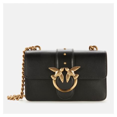 Pinko Women's Love Mini Icon Simply Shoulder Bag - Black