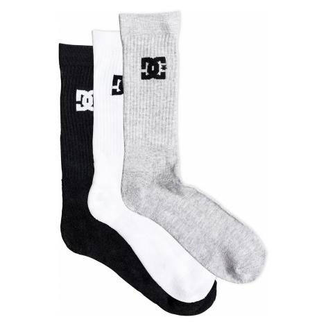 socks DC SPP Crew 3 Pack - KVJ8/Assorted - men´s